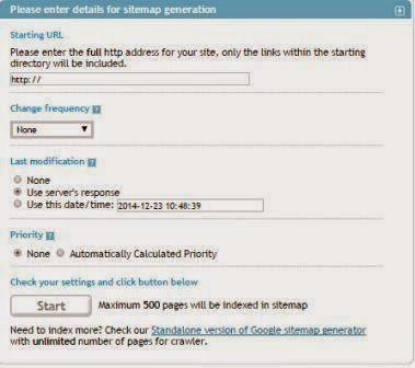 Cara membuat sitemap blog anda 1