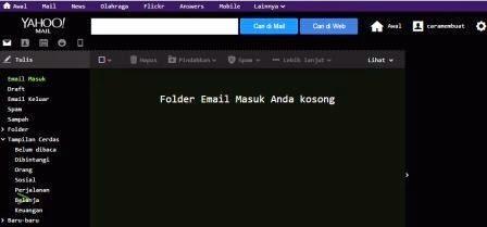 Dashboar email yahoo