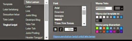 cara mengatur desain template di blog 4
