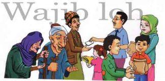 wajib atas muslim sekalian berzakat