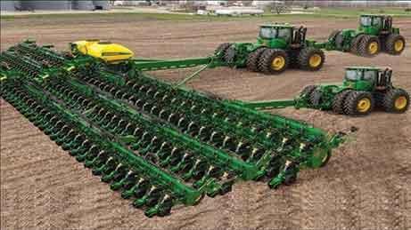 Mesin Pertanian Super (Dampak Positif Globalisasi)