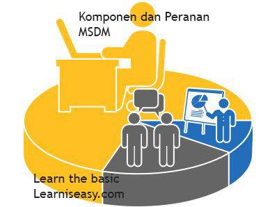 Komponen dan peranan MSDM