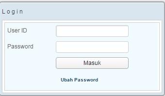 Tampilan login admin - cek dan cetak kartu BPJS kesehatan online
