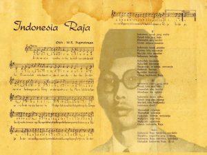 Teks dan Lirik Lagu Indonesia Raya Yang Asli Karangan W.R Soepratman beserta not balok dan not angka serta biramanya