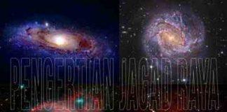 Pengertian alam semesta dan jagad raya serta pengertian galaksi dan macam bentuk galaksi