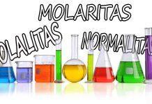 Pengertian molaritas pengertian molalitas pengertian normalitas